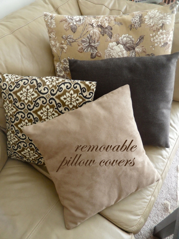 Removable Pillow Covers