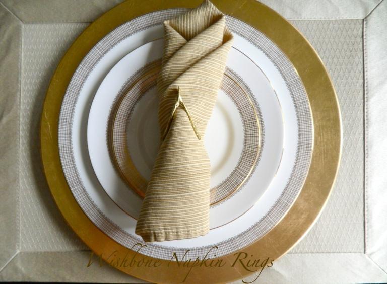 Wishbone Napkin Rings