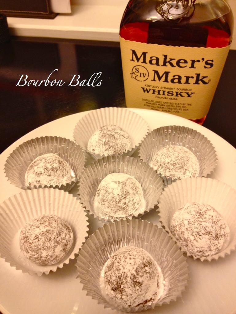 Bourbon Balls Done