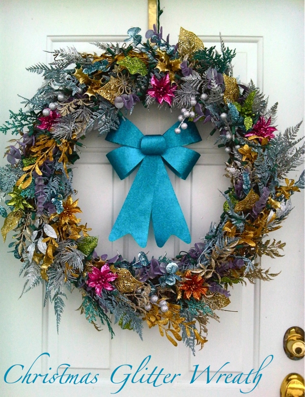 Christmas Glitter Wreath Day