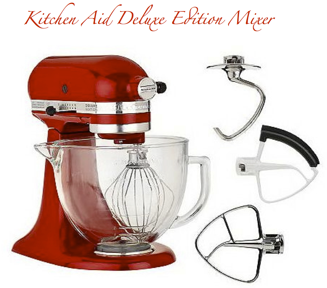Kitchen Aid Deluxe Edition Making It With Danielle