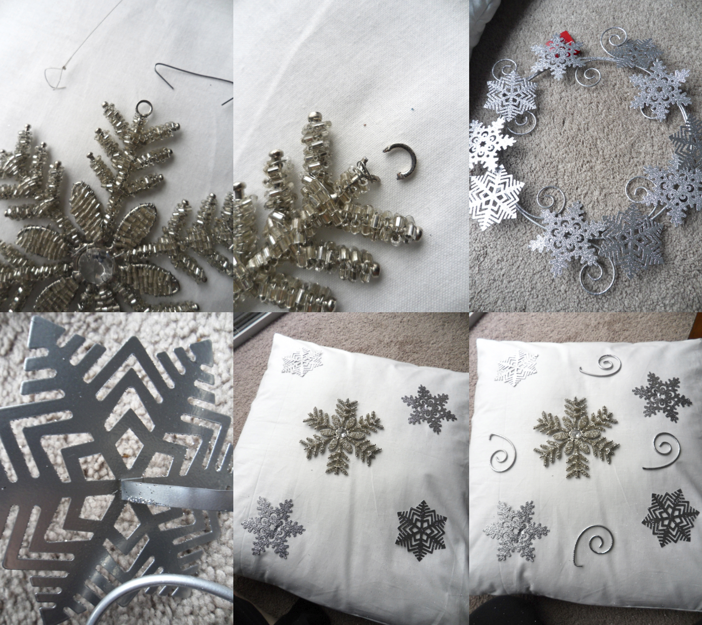 & Embellished Designer Christmas Pillows | pillowsntoast.com