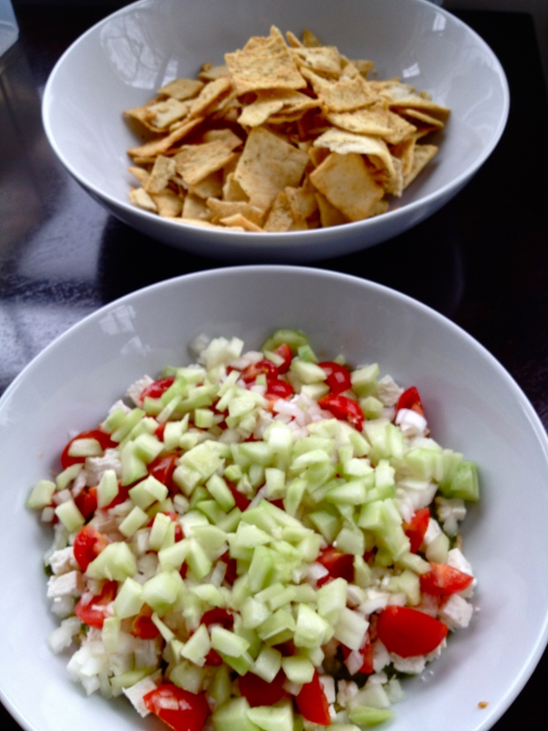 Six Layer Hummus Dip