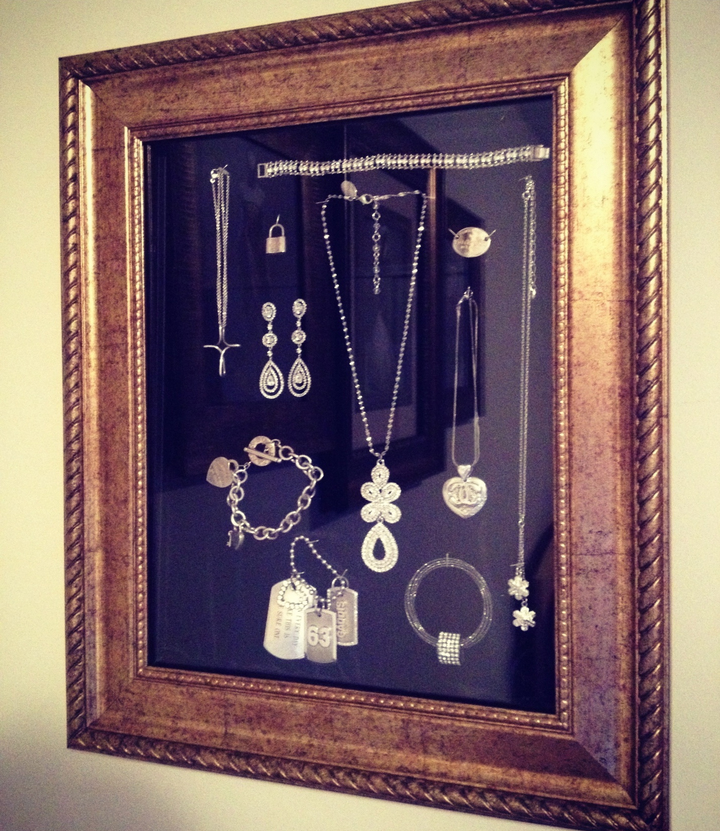 Framed Jewelry Box