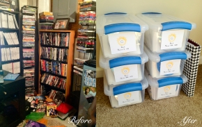 DVD Before and After