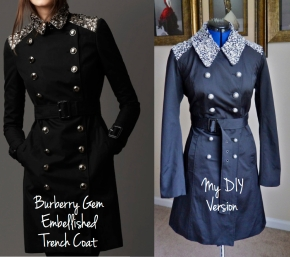DIY Burberry Trench Coat