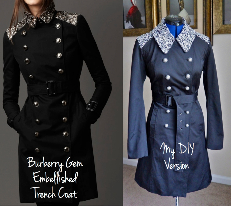 DIY Burberry Trench Coat