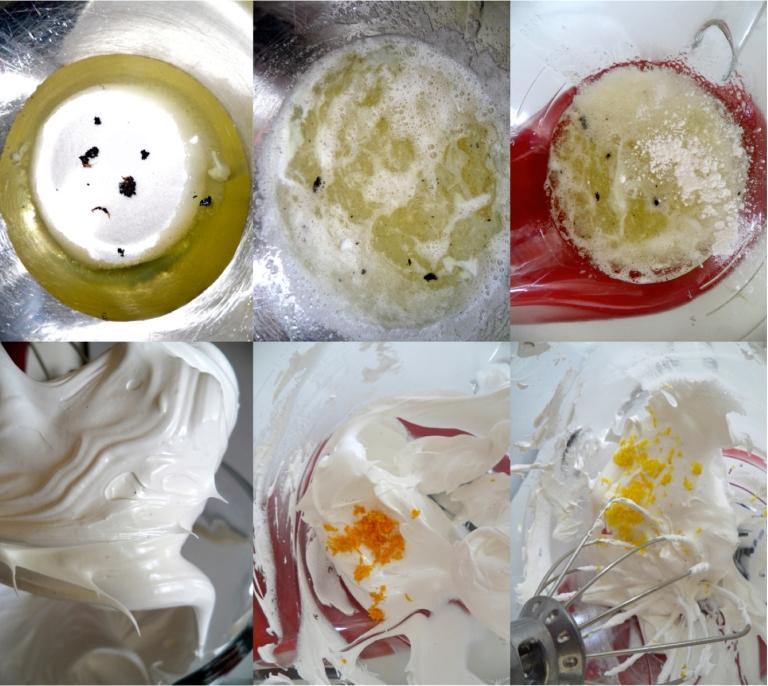 egg white meringues