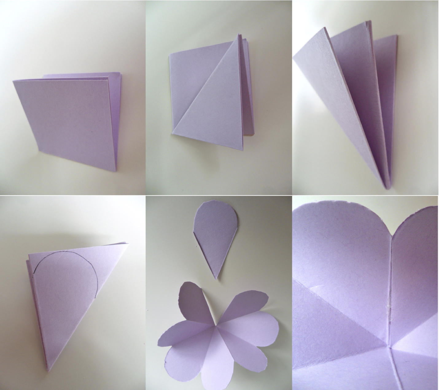 paper folding flower card selo l ink co