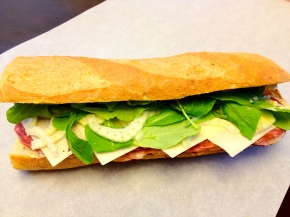 Italian Subs with Chive Romoulade