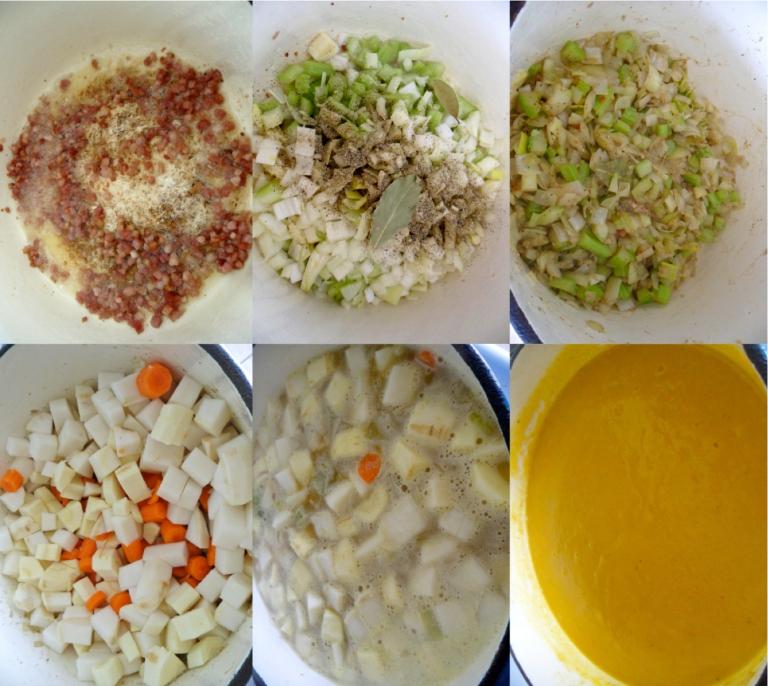 root veg soup