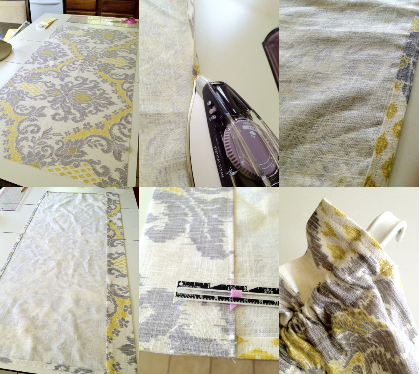 Quick and Easy Window Valance |