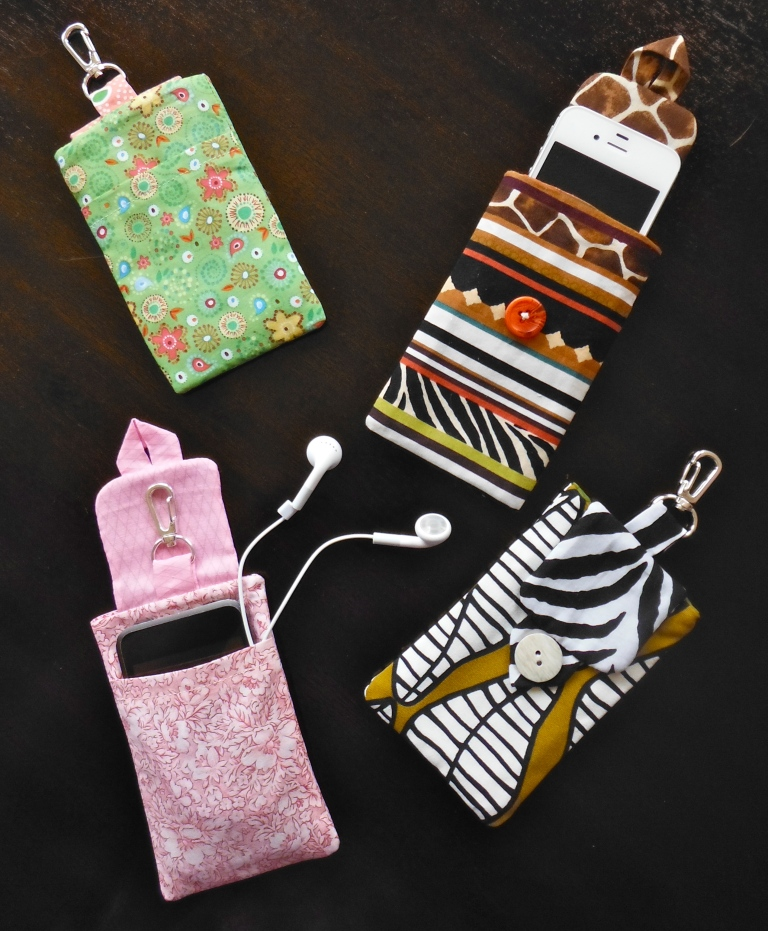 Different Views of iPhone sleeves