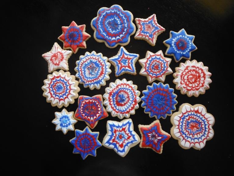 Firework Cookies