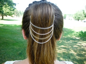 Belle Noel Inspired Ponytail Chain