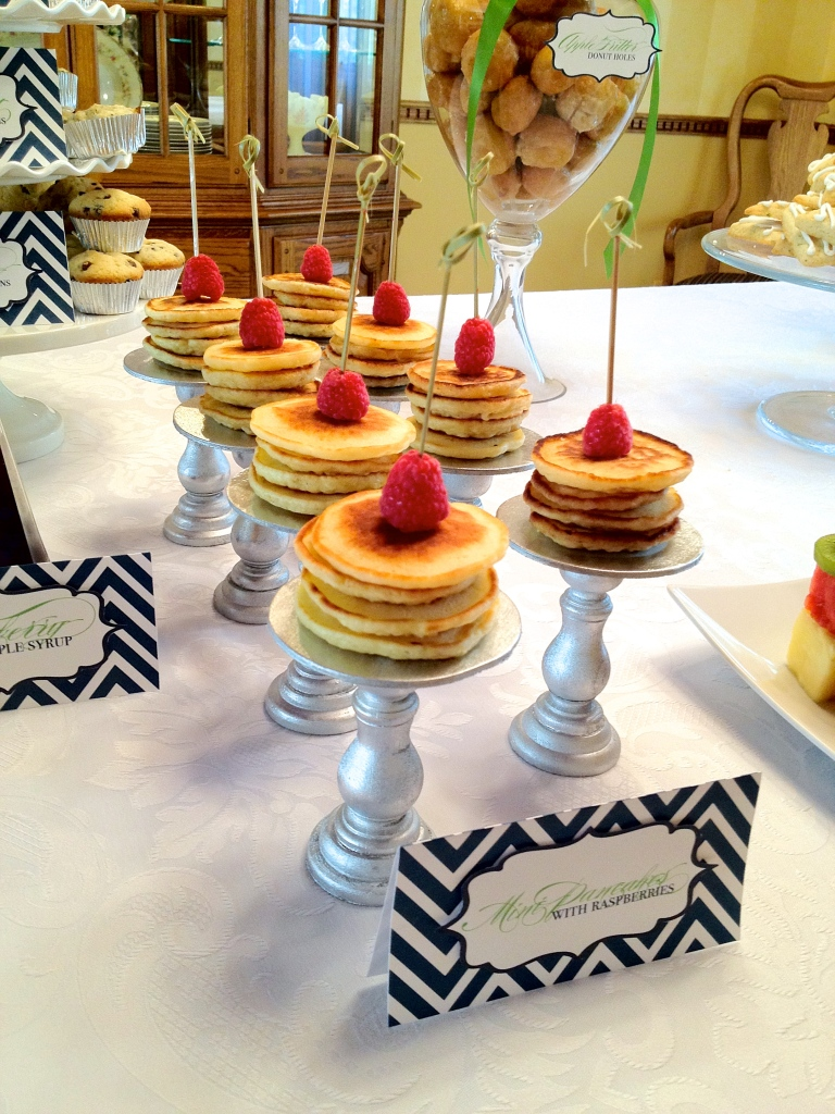 Mini Cake Stands and Pancake Stacks