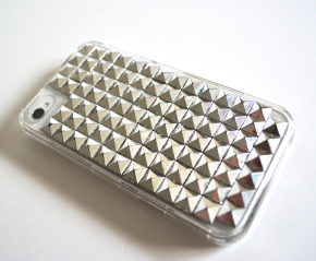 Finished Studded iPhone 4s Case