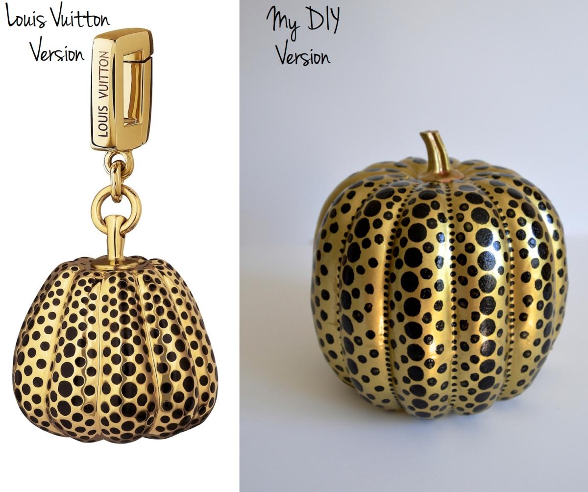 Diy Louis Vuitton Amp Yayoi Kusama Pumpkin