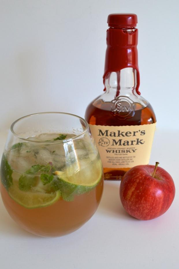 Apple Bourbon Mojito