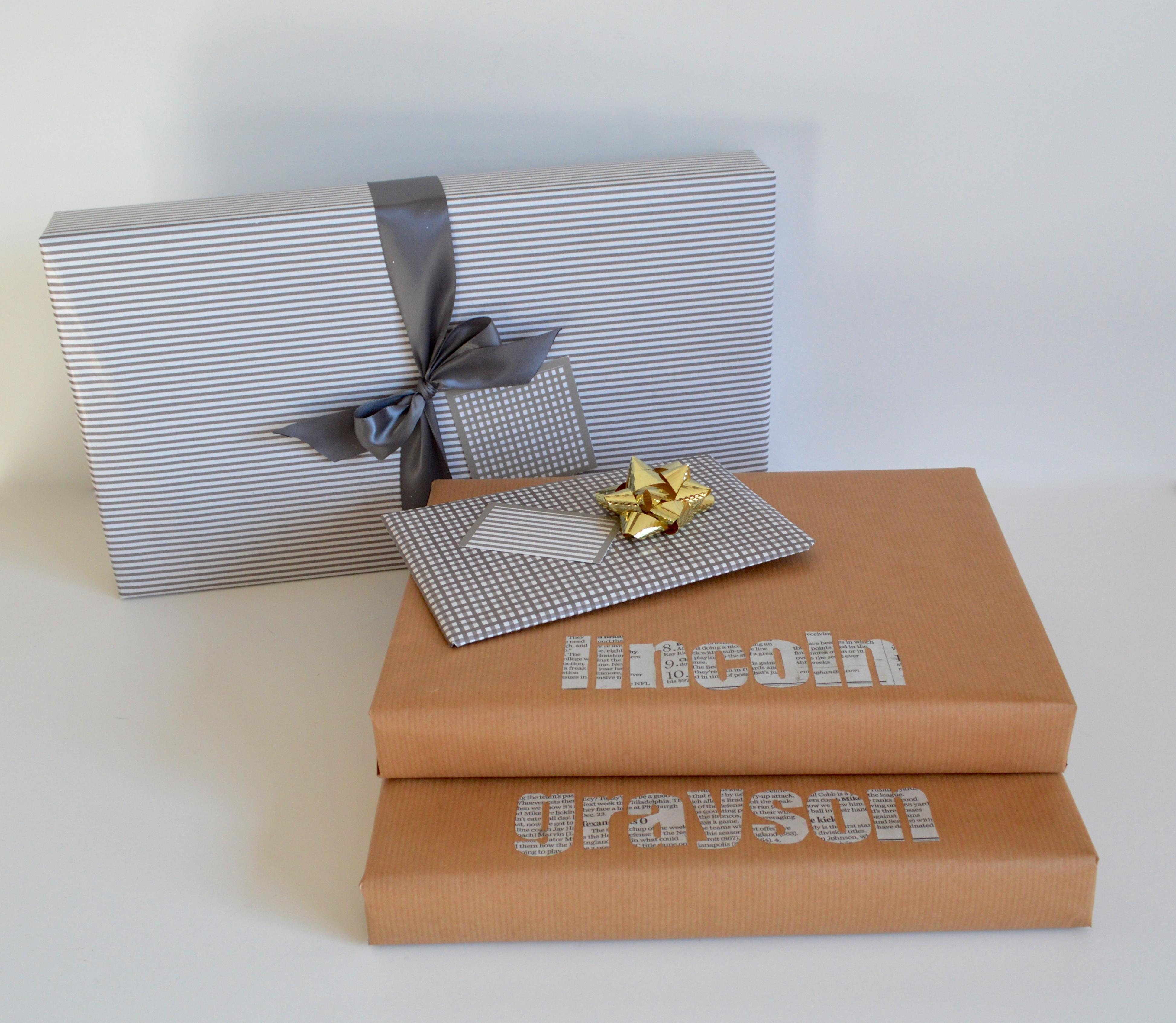 Упаковка подарков для мужчины с