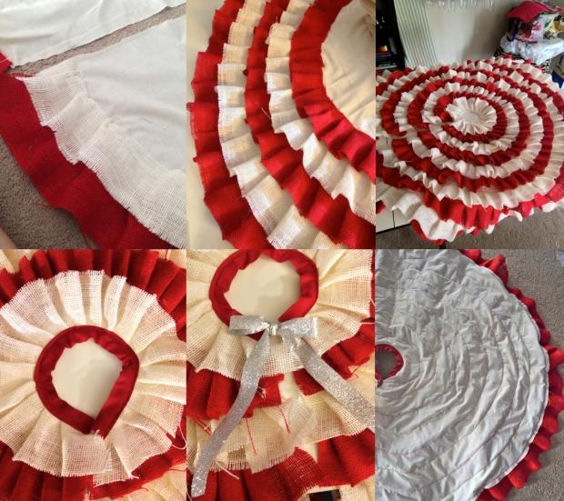finishing tree skirt