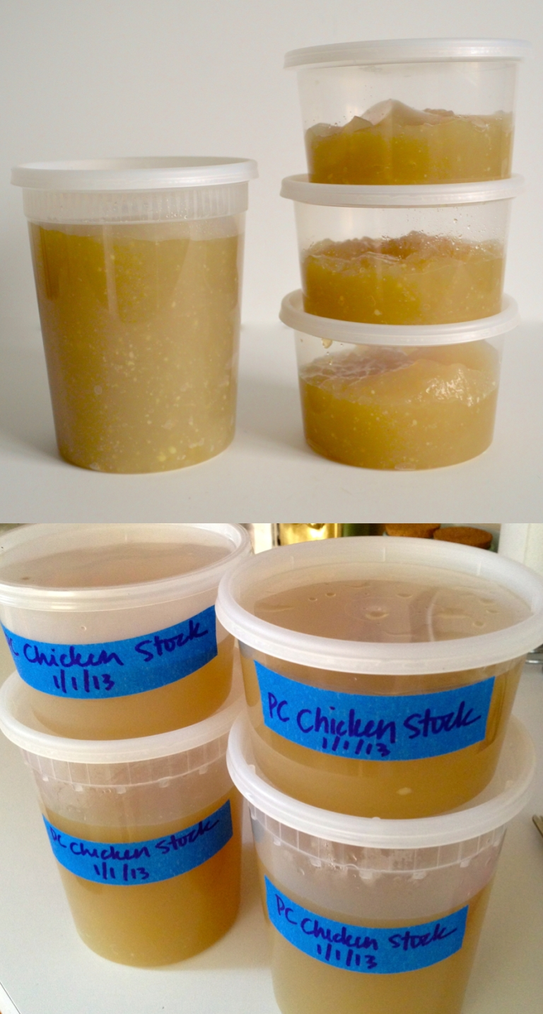 Chicken Stock 2 Ways
