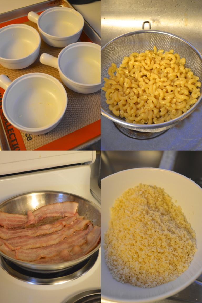 Mac and Cheese Prep