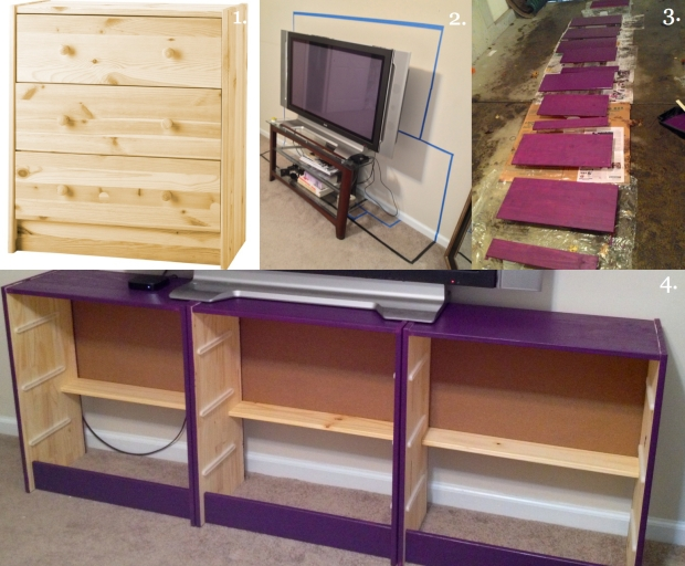 Planning and Building the Dresser