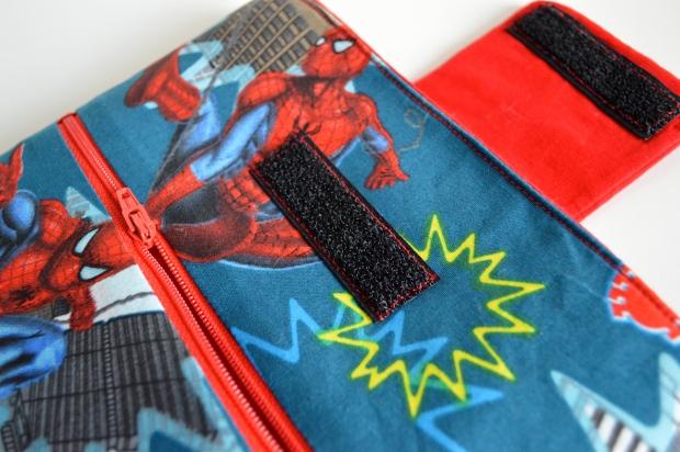 Velcro & Topstitching