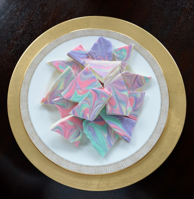 Easter Chocolate Bark Pieces