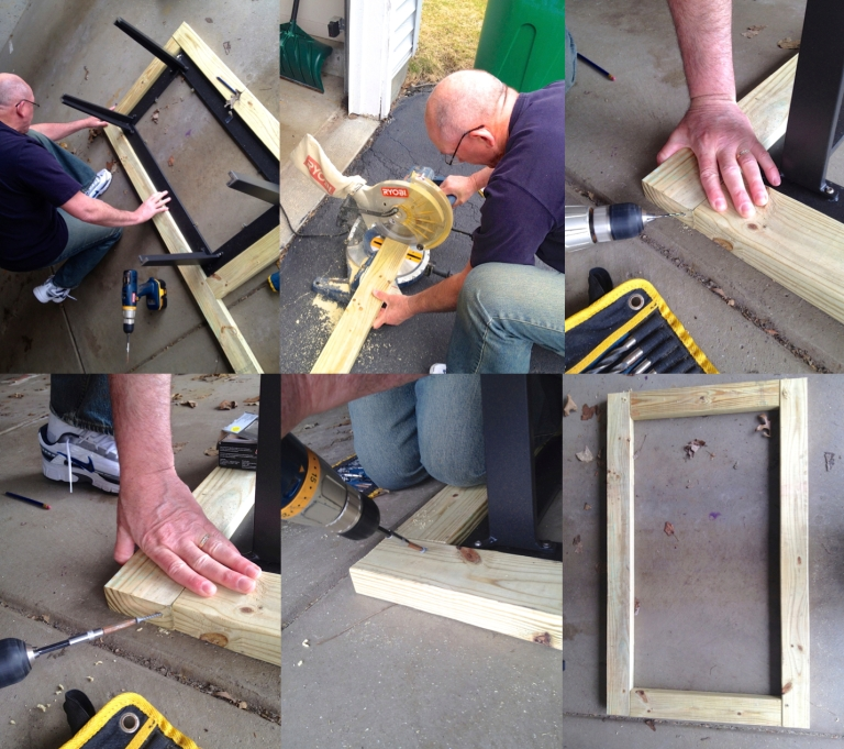 Building the Table Frame