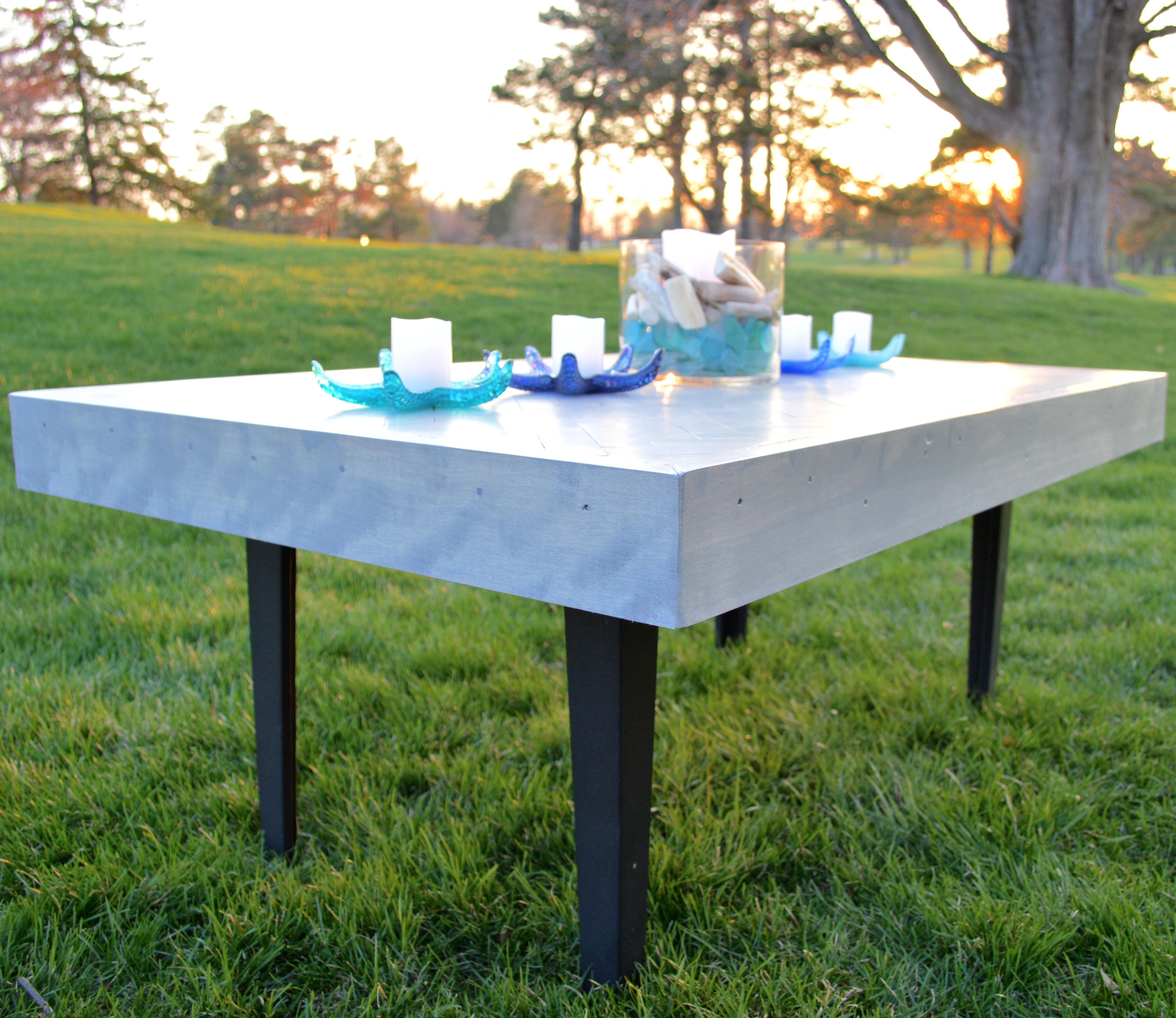 Herringbone Table