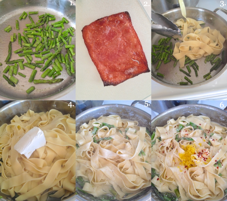 springtime pappardelle how to