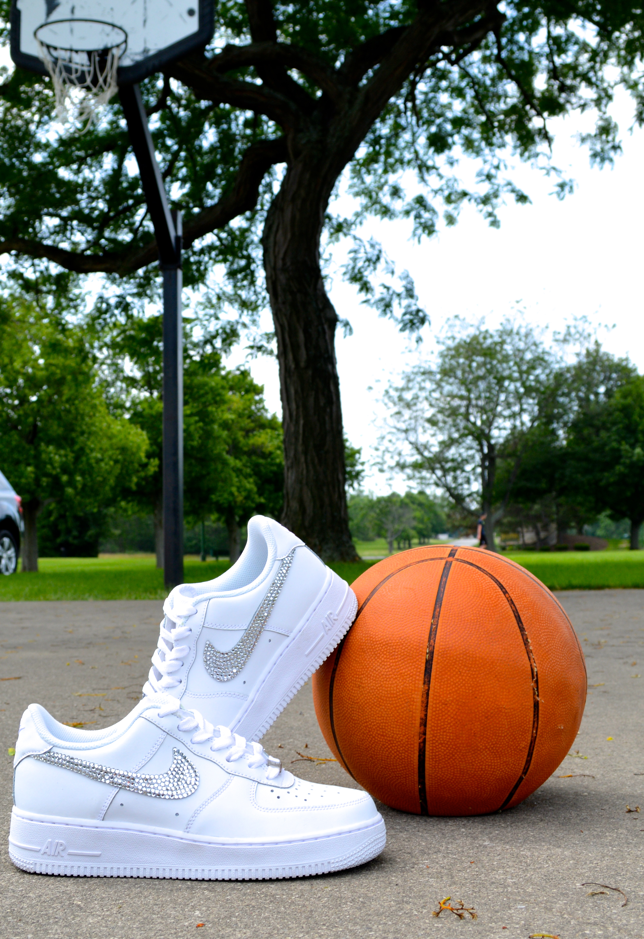 Embellished Nikes