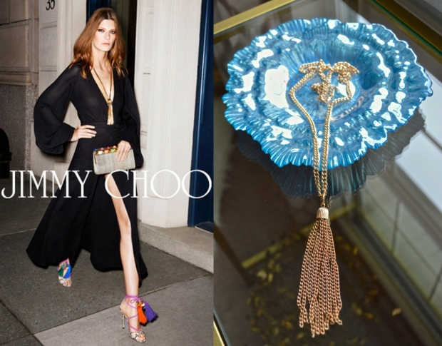 Jimmy Choo Tassel Necklace DIY