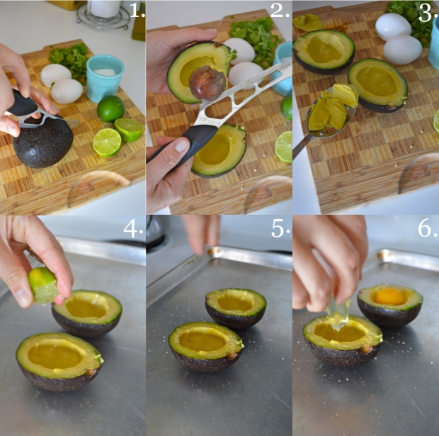 avacado egg boats