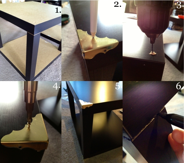 trunk table how to
