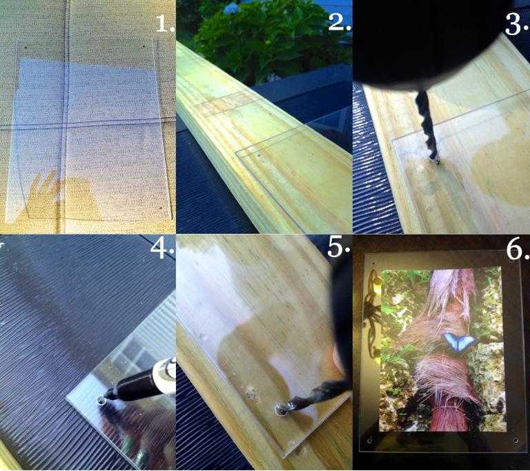 Plexiglass Frames How To