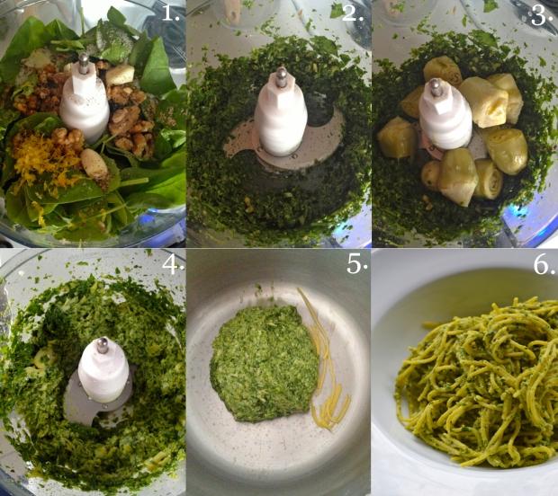 Spinach & Artichoke Pesto