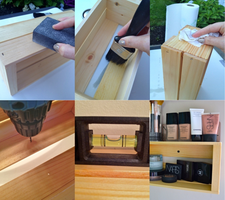Wooden Crate Shelving How To