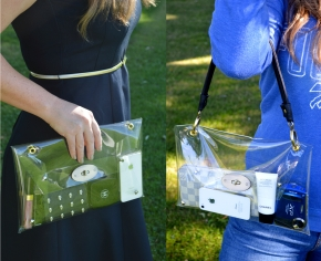 Convertable Transucent Bag
