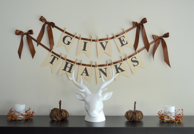Give Thanks Banner