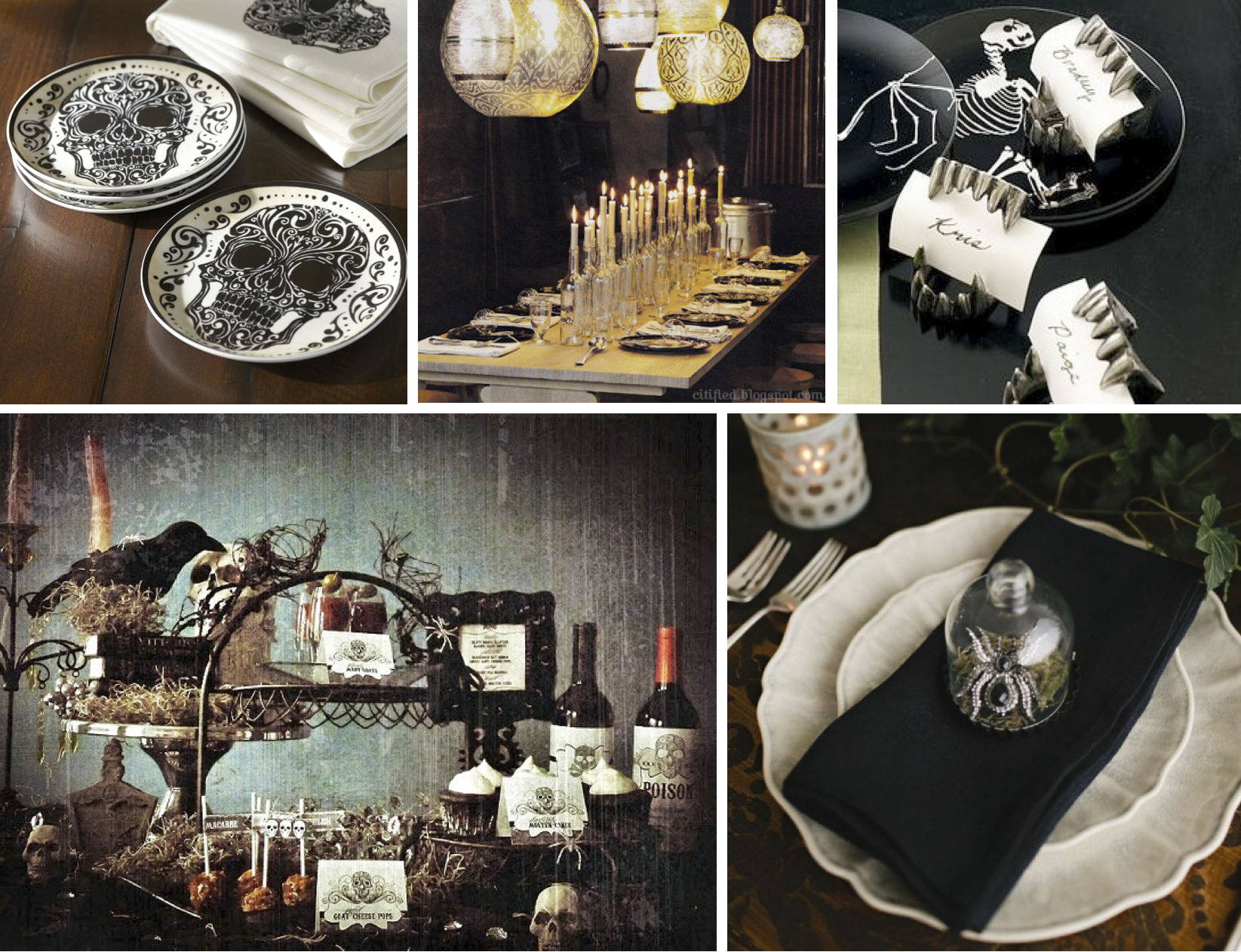 halloween table settings - Halloween Catalogs