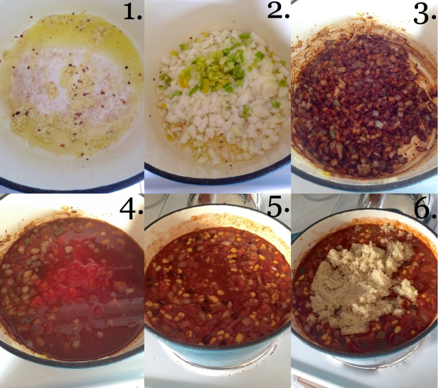 Quinoa Chili 1-6
