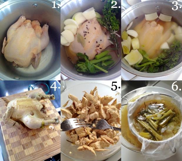 Chicken Pot Pies 1-6