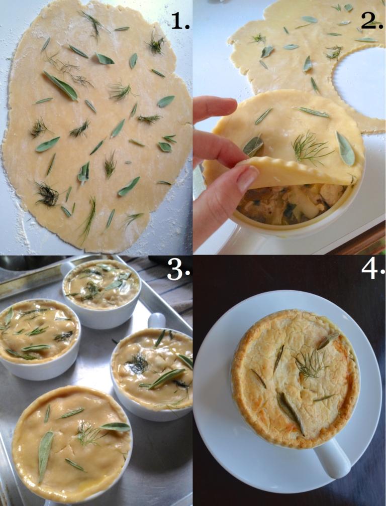 Chicken Pot Pies 13-18