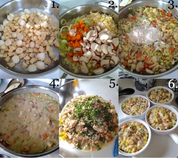 Chicken Pot Pies 7-12