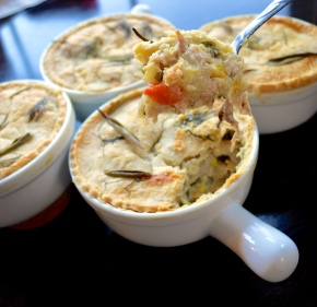 Mini Chicken Pot Pies