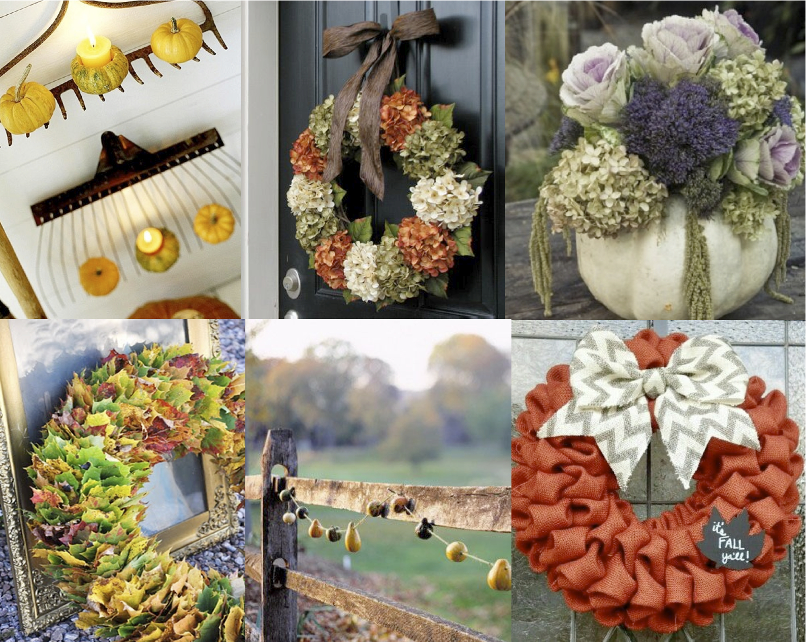 Thanksgiving decor ideas - Outdoor dekoration ...