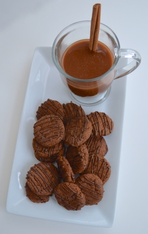 Mex Hot Choc Cookies